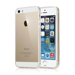 Ultra Thin Transparent Clear TPU Cover Case for iPhone 5 : 5s