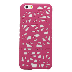 Rose Pink Hollow Bird Nest Snap on Cover Case for iPhone 6 and 6s (4.7inch)