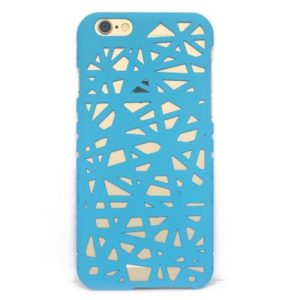 Sky Blue  Hollow Bird Nest Snap on Cover Case for iPhone 6 and 6s (4.7inch)