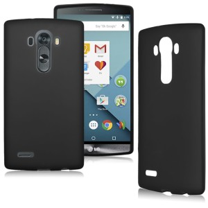 Black Frost TPU Gel Cover Case for the LG G4 Stylus