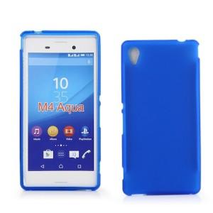 Blue Frost TPU Cover Case for Sony Xperia M4 Aqua