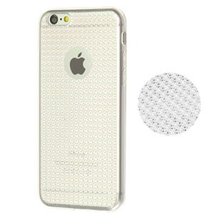 Silver Luxury Bling Silcone TPU Phone Cover Case for iPhone 6 and 6s