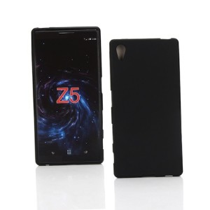 Black Frost TPU Gel Cover Case for Sony Xperia Z5