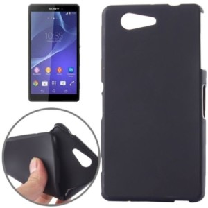 Black Frost TPU Gel Cover Case for Sony Xperia Z5 Compact : Mini