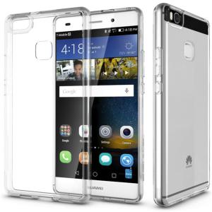 Huawei P9 Transparent Clear Thin TPU Anti Slip Protective Cover Case