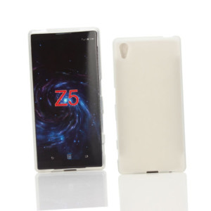 White Frost TPU Gel Cover Case for Sony Xperia Z5