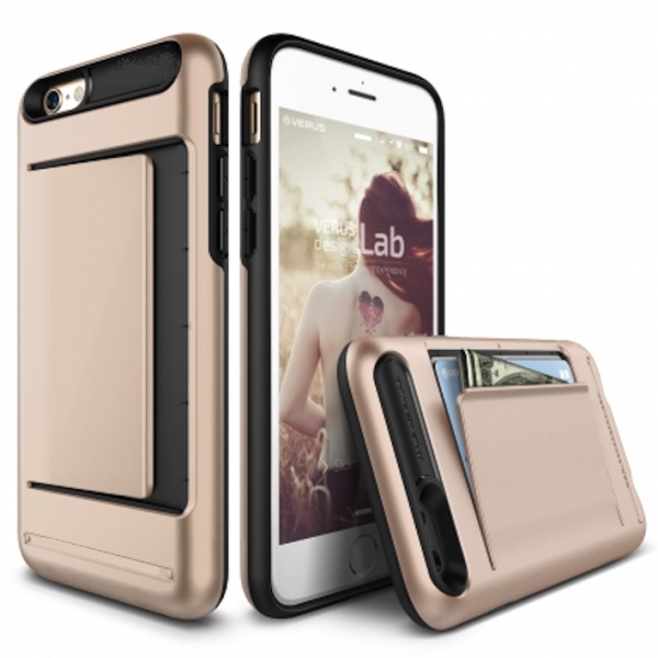 iPhone 4 : 4s VERUS Rugged Protective Money Clip Cover Case – Gold
